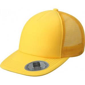 Кепки с прямым козырьком летняя Золотисто-Жёлтый