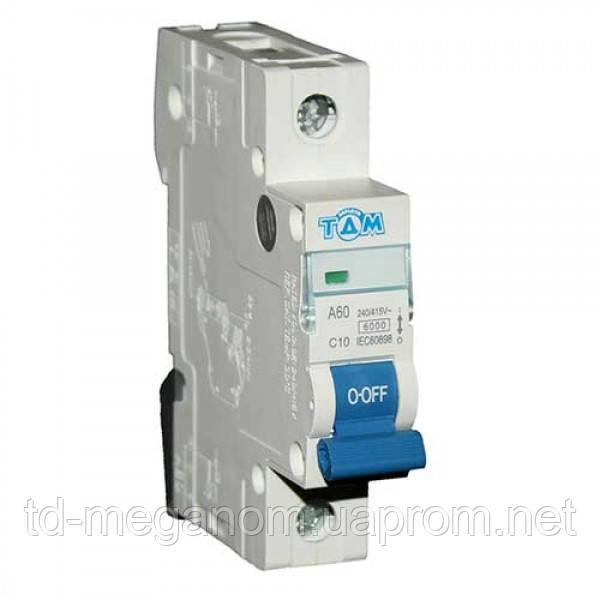 Автоматичний вимикач 1 Полюс 10А