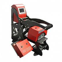 Термопресс Amazon MAGCAP-200 с магнитом,  для 4 видов кепок и плоской плитой 15х15см, фото 2