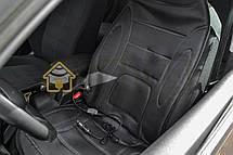 Накидка на сиденье с подогревом высокая черная, Lavita LA 140402BK, фото 3