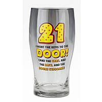 "Келих для пива ""Age 21"" 570 мл, фото 1"