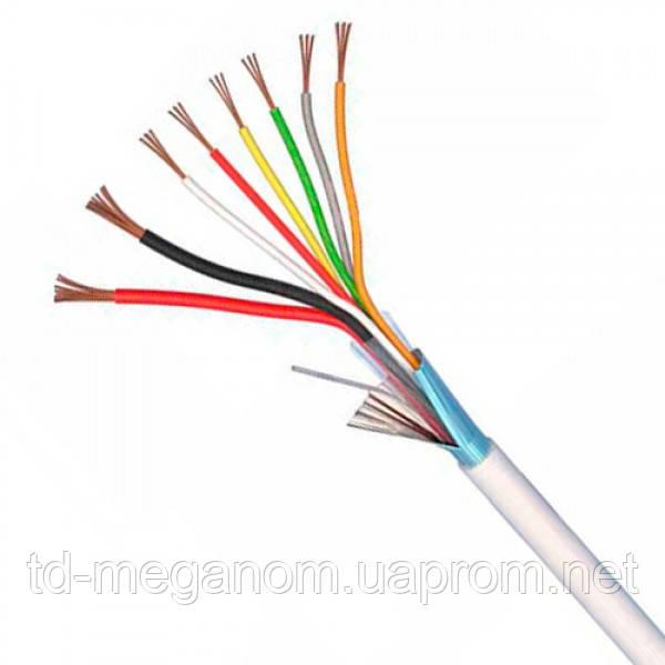 Сигнализационный кабель связи в экране 8х0,5 медь