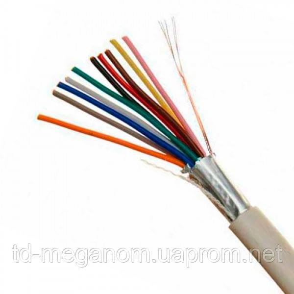 Сигнализационный кабель связи в экране 10х0,22 медь