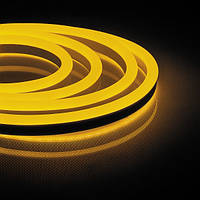 Светодиодная неоновая лента Feron LS720 120SMD/м 220V IP65 желтый