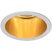 Встраиваемый светильник Feron DL6003 белый-золото