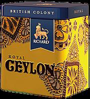 Чай черный цейлонский с медовыми нотками крупнолистовой RichardRoyal Ceylon 50 г ж/б