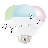 Bluetooth-динамик Умная лампочка, фото 1
