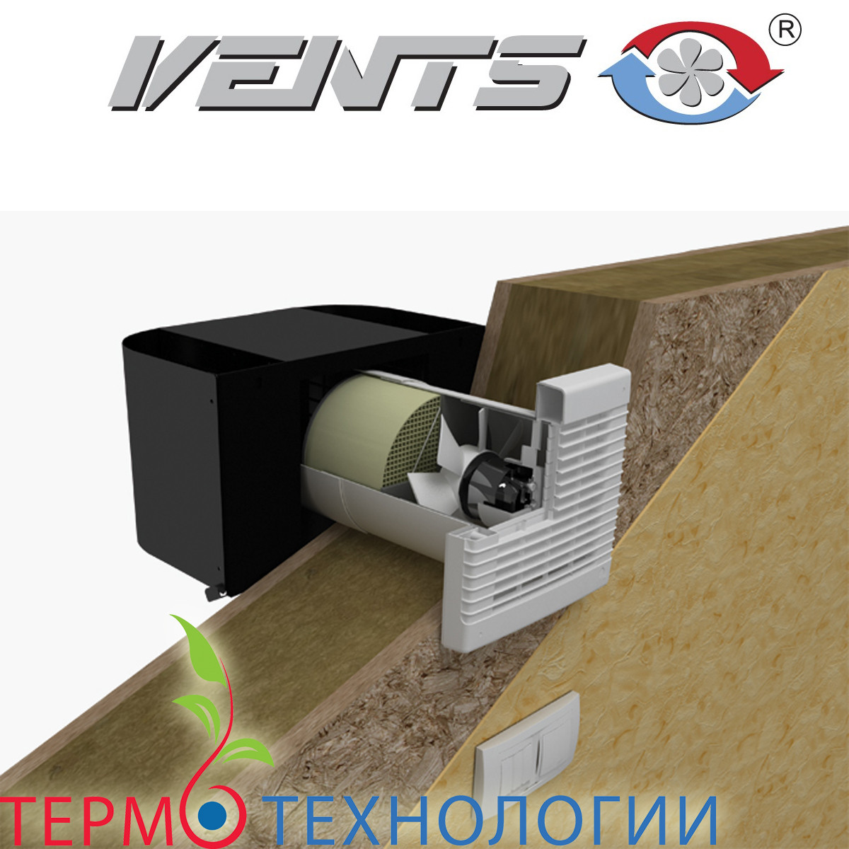 Рекуператор Vents ТвинФреш для помещения до 20 м.кв.