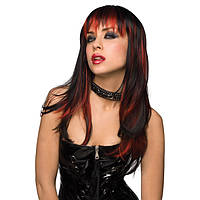 Парик COURTNEY WIG BLACK WITH BURNT RED
