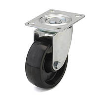Колесо из фенольной смолы поворотное 80 мм (тефлоновая втулка)