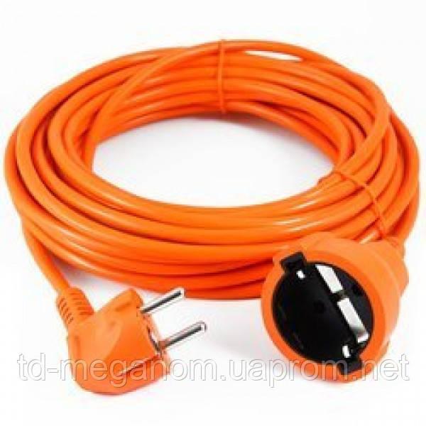 Подовжувач помаранчевий ПВС 3х1,5 (15 метрів)