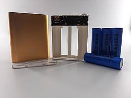 Корпус power bank. Комплект в сборе. 5В 2.0A бокс на 4X18650+аккумуляторы Bossman 2000мА-4шт. Сварка бесплатно