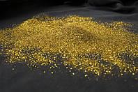 Блискітки до рідких шпалер (гліттер) Золото точка