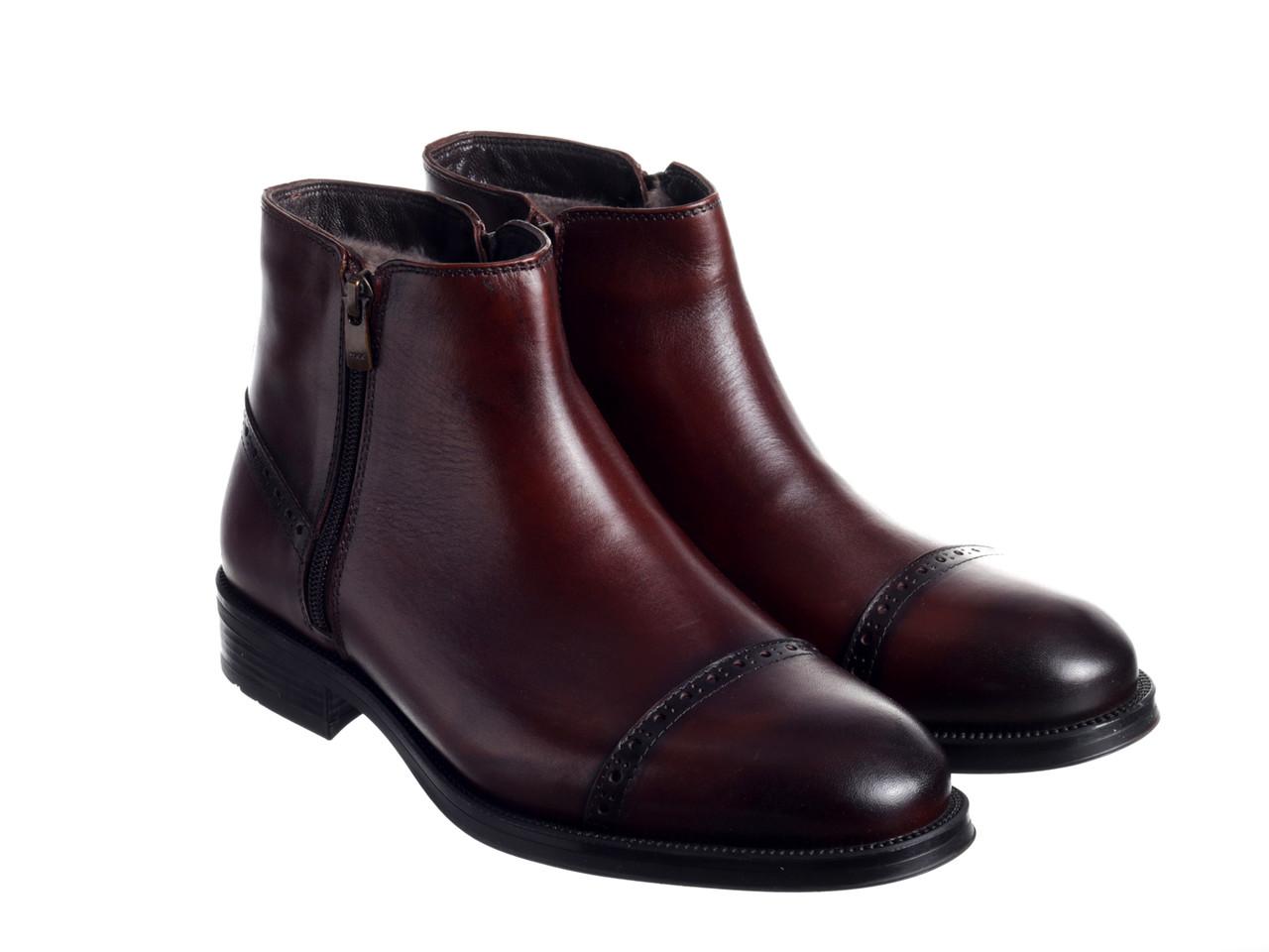 Черевики Etor 15867-10083-1099 коричневий