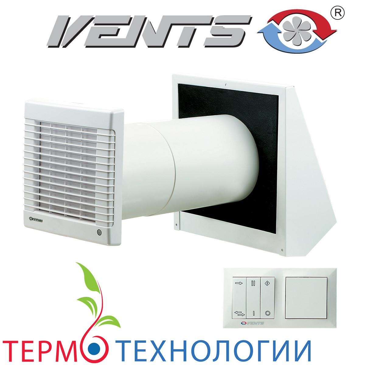 Рекуператор Vents ТвинФреш для вентиляции помещения до 25 м.кв.