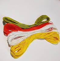 Нить хлопок 100% для рукоделия 4 цвета, фото 1