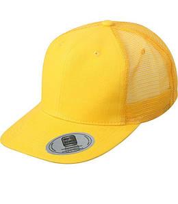Кепка с прямым козырьком Золотисто-Жёлтый