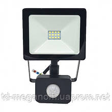 LED прожектор с датчиком движения S-10W