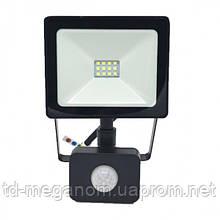 LED прожектор с датчиком движения S-20W