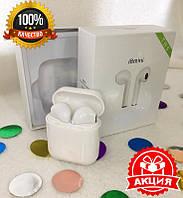 Беспроводные наушники Apple AirPods i8 mini tws Bluetooth с боксом для зарядки (качественная копия Apple)