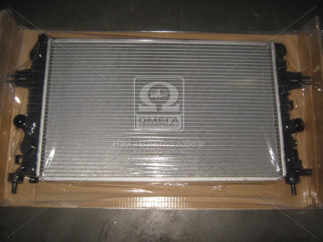 Радиатор охлаждения двигателя ASTRA H 16i-16V MT/AT 04- (Van Wezel). 37002363