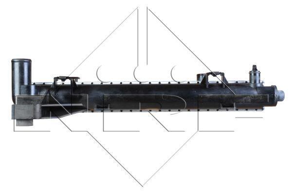 Радиатор охлаждения двигателя HYUNDAI i30 07- (пр-во NRF). 53821
