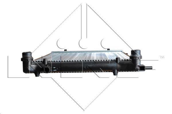 Радиатор охлаждения двигателя BMW 316i 83- (пр-во NRF). 53426