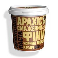 ТОМ Арахисовое масло кранч с черным шоколадом и финиками 500 g
