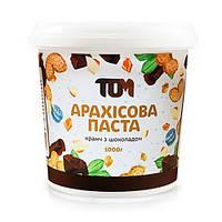 ТОМ Арахисовое масло кранч с шоколадом 1 kg