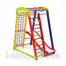 Детский спортивный уголок-  «Кроха - 1 Plus 1»  SportBaby, фото 3