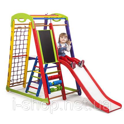 Детский спортивный уголок-  «Кроха - 1 Plus 3» SportBaby, фото 2