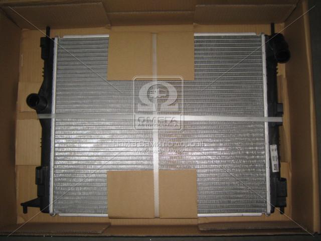 Радиатор охлаждения RENAULT LOGAN I (04-)/SANDERO I (08-) (пр-во Nissens). 637609