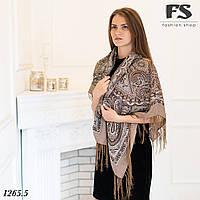 Павлопосадский шерстяной платок Таира