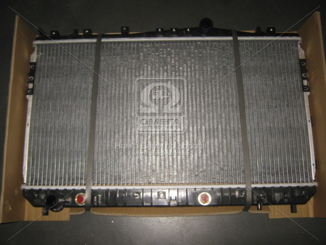 Радиатор охлаждения двигателя NUBIRA/LACETTI AT 03- 1.6-1.8 (Van Wezel). 81002074