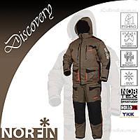 Зимний костюм Norfin Discovery Хаки до -35C + фирменная шапка Carp Zoom