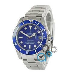 Мужские часы Rolex Submariner AAA Date Silver-Blue, механические часы Ролекс Дайтона, элитные часы реплика ААА