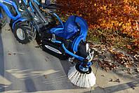 Щетка для сбора листьев с бункером Multione на мини-погрузчик, фото 1