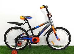 Детский велосипед Azimut Stitch 18-дюймов