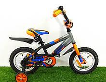 Дитячий велосипед Azimut Stitch 12-дюймів