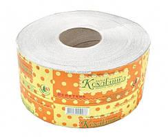 Туалетная бумага СЕРАЯ Джамбо, 1-слойная Макулатура, 120 м, 8 рул/уп Украина