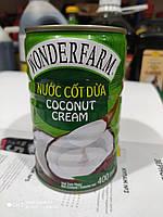 Кокосовый Крем натуральный Wonderfarm Coconut Cream 400ml