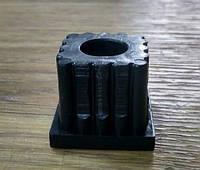 Заглушка квадратной трубы 30х30 с резьбой М10, фото 1