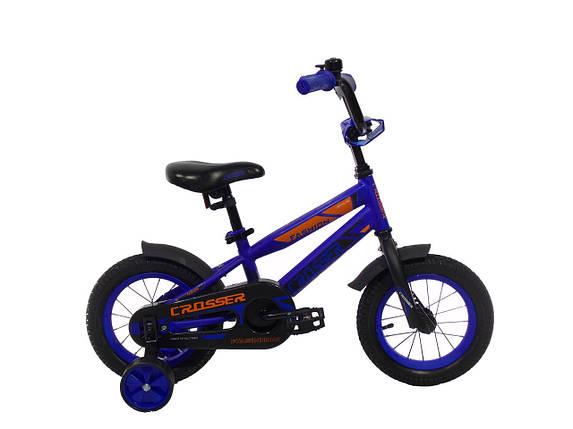 Детский велосипед Crosser JK-717 14', фото 2
