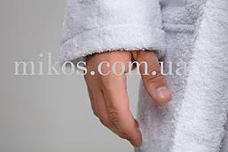 Мужской халат XXL, махровый,белый,100% хлопок, фото 3