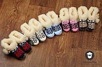 Детские пинетки, теплые пинетки для деток, чуни детские, фото 1