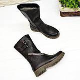 """Ботинки женские кожаные  от производителя  ТМ """"Maestro"""", цвет черный, фото 4"""