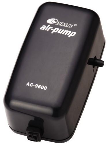 Одноканальный воздушный компрессор для аквариума Resun AC-9600 (до 50 л)