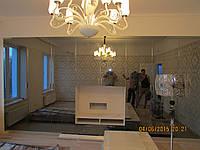 Шкаф с большими графитовыми зеркалами