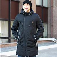 Мужская зимняя куртка-парка NICEN с капюшоном