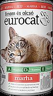 Консерва для кошек EUROCAT ВЕНГРИЯс Говядиной 415 гр